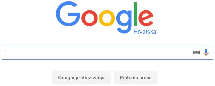 Kako biti prvi na google